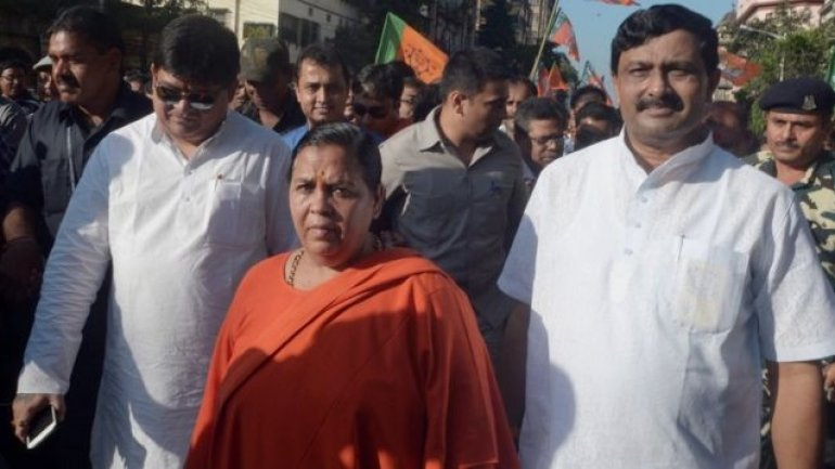 Indian water minister Uma Bharti says she had rapists tortured