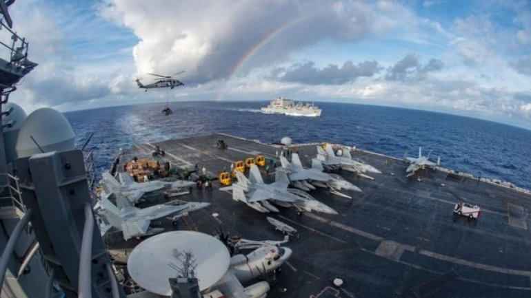 "South China Sea: US carrier group begins ""routine"" patrols"