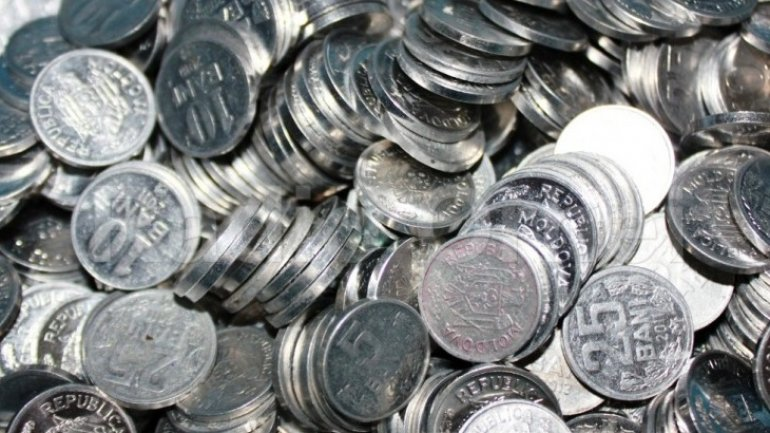 Almost 760 million coins and 250 banknotes in circulation in Moldova