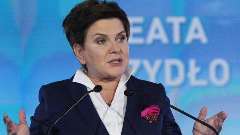 Polish Premier SURVIVES car crash