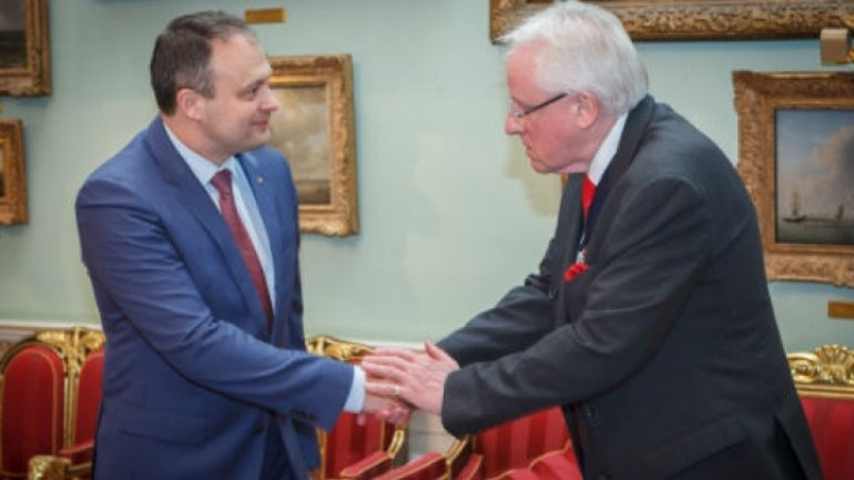 Moldova's Speaker, hosted at Buckingham Palace. British Royals, interested in projects in Moldova