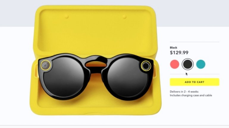 Snap starts selling Spectacles online in the US for $130