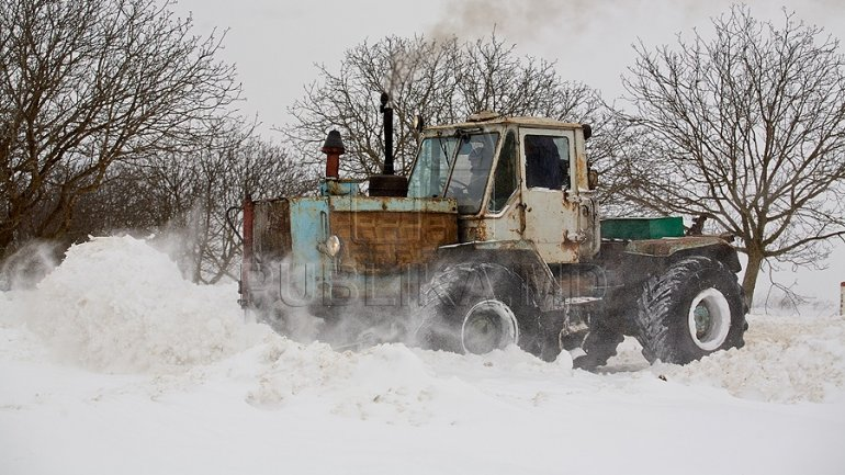 NON-STOP work in order to keep roads snow free