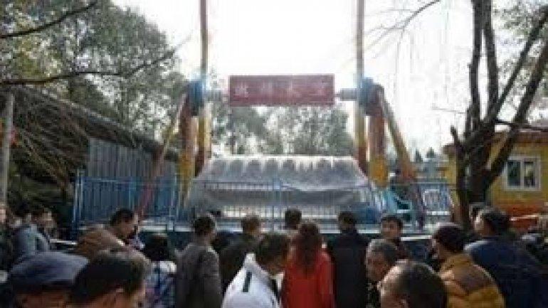 Girl, 13, dies after being flung from Chongqing amusement park ride (VIDEO)