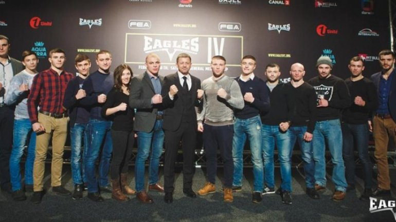 Fighters, ready to show high performance at MMA Eagles Fighting Championship