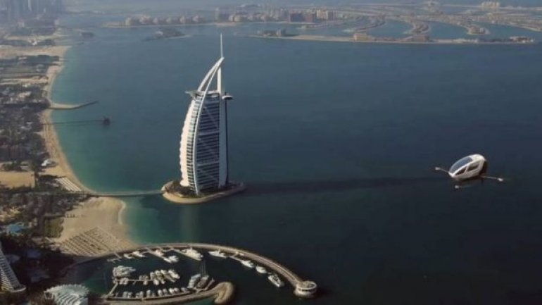 Dubai plans to introduce FLYING drone taxis (VIDEO)