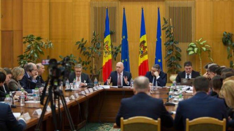 Prime Minister Pavel Filip towards development partners: European integration remains Moldova's main project