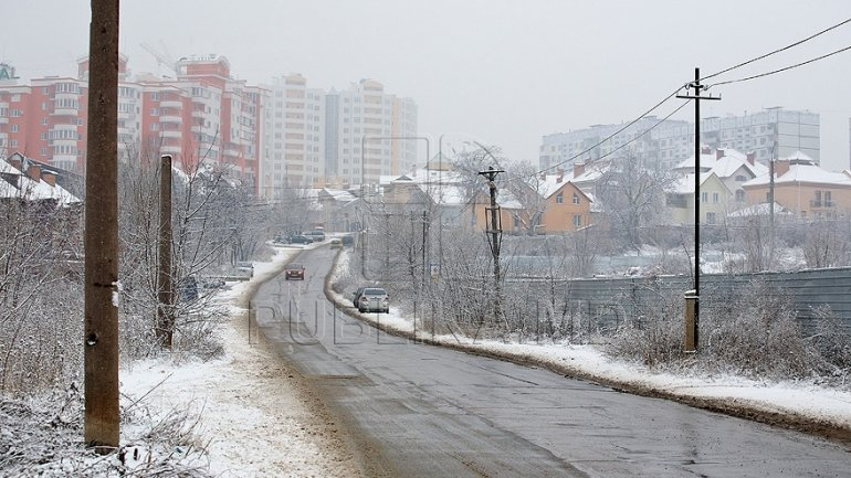 Weather forecast in Moldova for December 20, 2017