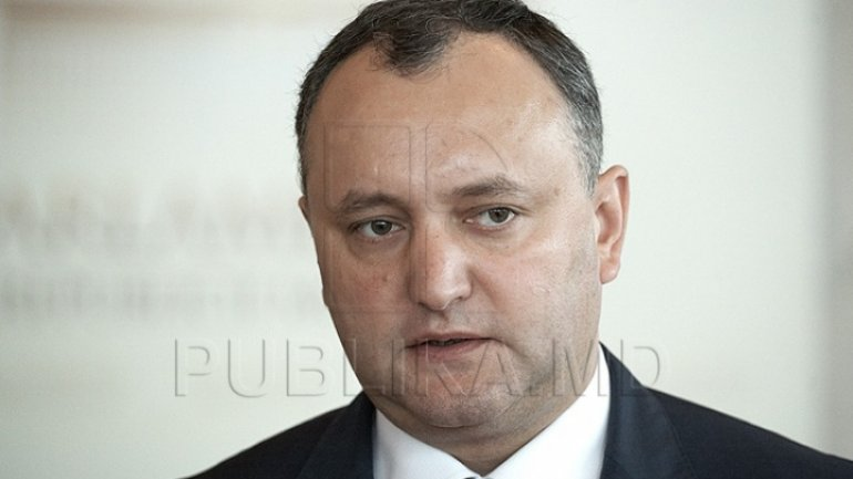 President Dodon dubs opening NATO office as mistake