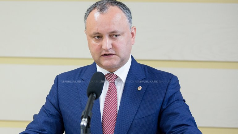 Dodon bans group of National Army soldiers to participate in exercise in Romania