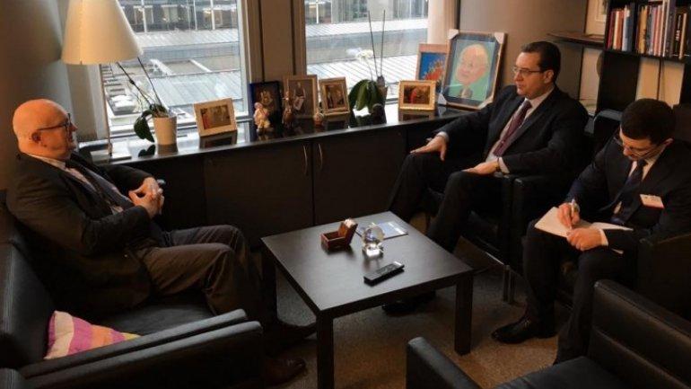 EURONEST deputy president Marian Lupu meets top EU officials in Brussels