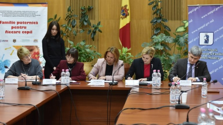Four Ministries sign agreement insuring welfare for every child