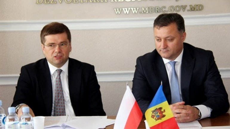 Moldovan delegation visits Polish Foreign Ministry after completing development program financed by Poland