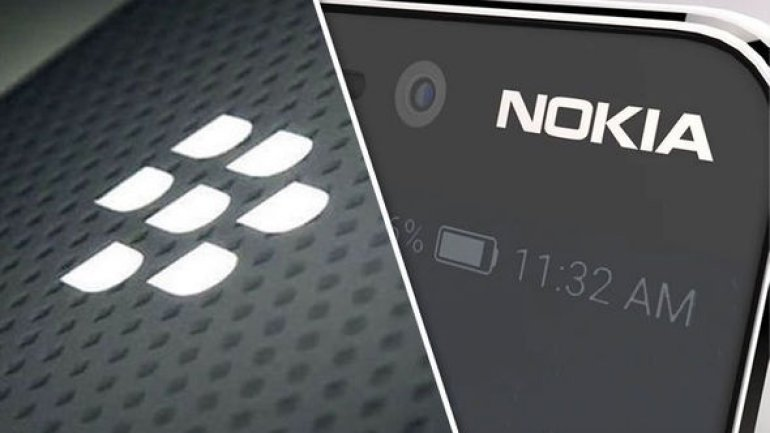 Blackberry sues Nokia in patent clash