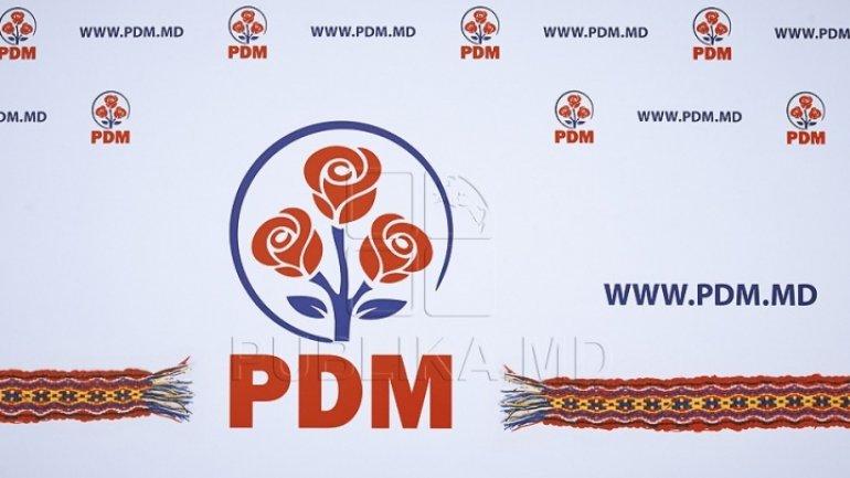 PDM slams President Igor Dodon's representing Moldova in Brussels