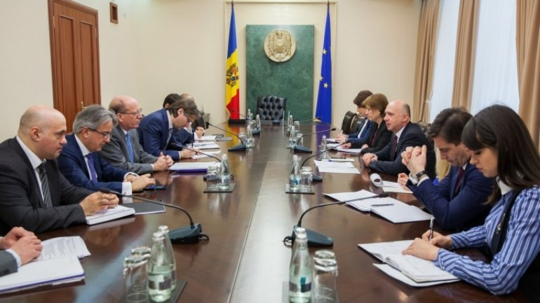 Moldovan Premier discusses cooperation with EBRD top official