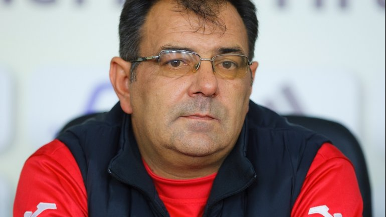 Stefan Stoica becomes new coach of Zimbru Chisinau