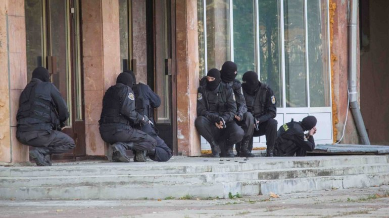 Anti-extremist operation conducted by Moldovan SIS in attention of international media