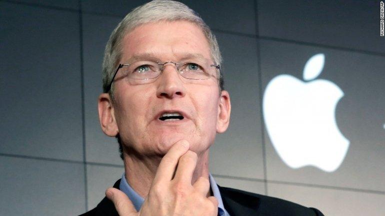 Apple boss: Fake news kills people's minds