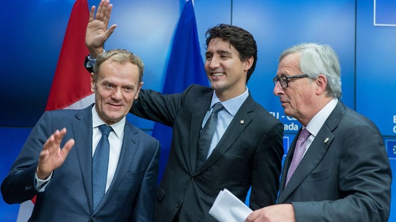 Trudeau wants Canada and EU to lead world economy