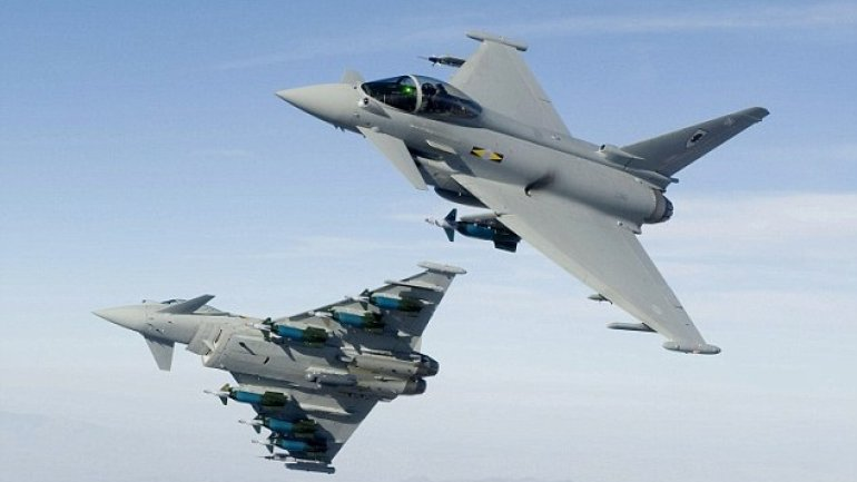 British fighter jets scramble as Russian bombers near air frontier