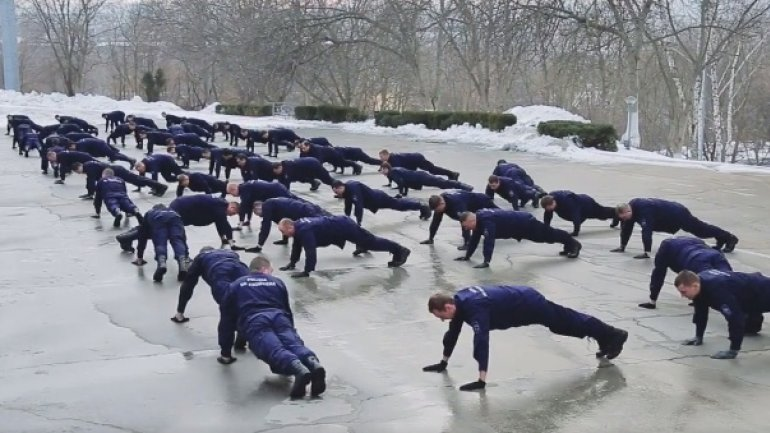 """Border guards join """"22 Push-up challenge"""" campaign (VIDEO)"""