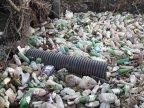 River crossing Chisinau turns into garbage dump