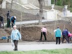 Capital Clean-up: Spring cleaning for the city of Chisinau