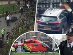 Police officer, STABBED in British Parliament. Perpetrator, SHOT DEAD