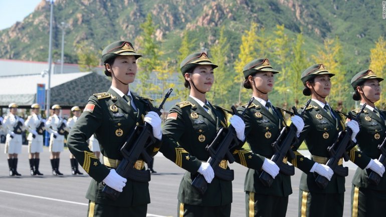 China announces smallest military spending increase in 7 years