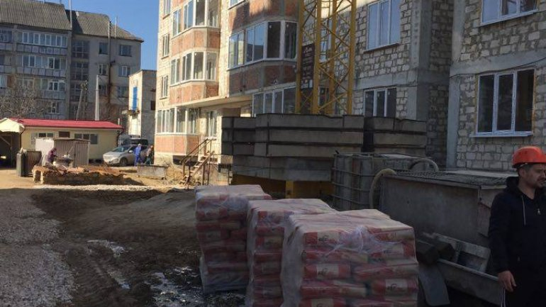 Social housing in Nisporeni district to be ready in September (PHOTO)