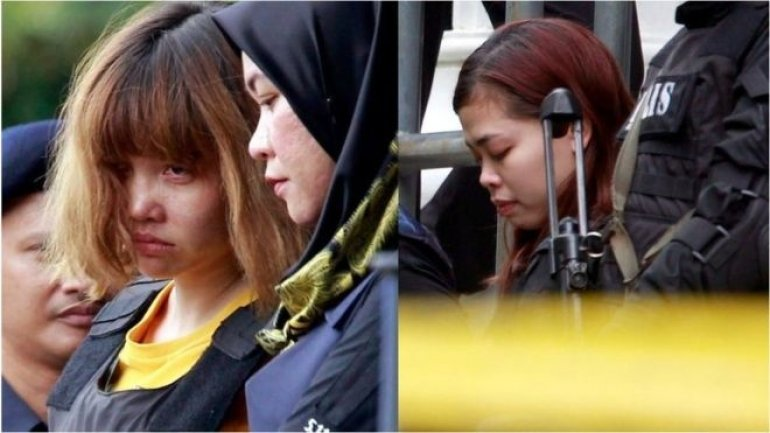 Kim Jong-nam death: Two women charged with murder