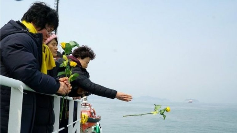 South Korea Sewol ferry disaster: Human remains found