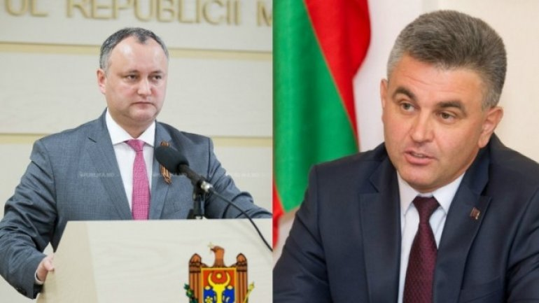Igor Dodon will meet Tiraspol leader Vadim Krasnoselsky. Matters to be discussed