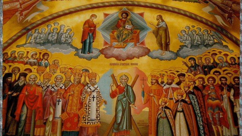 Icon of All Saints blessed at Metropolitan Cathedral