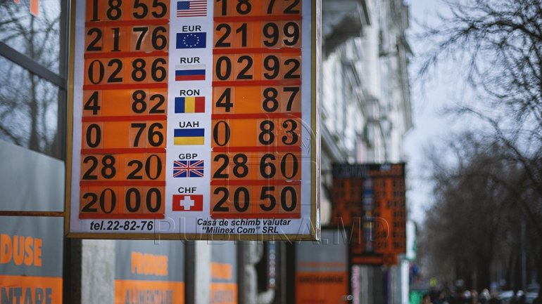 EXCHANGE RATE for March 14, 2017. Moldovan leu continues descension as to euro