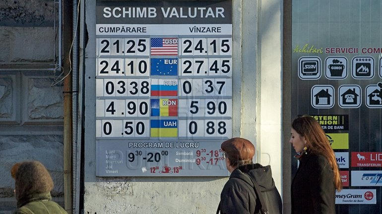 EXCHANGE RATE for March 23, 2017. Moldovan leu slightly rises as to euro