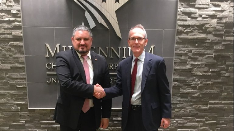 Foreign Minister meets with deputy chief of Millennium Challenge Corporation