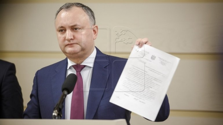 Moldovan President wants change of Constitution to gain more powers