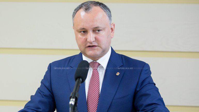 REACTION of President Igor Dodon at the PDM's initiative on implementation of uninominal voting system