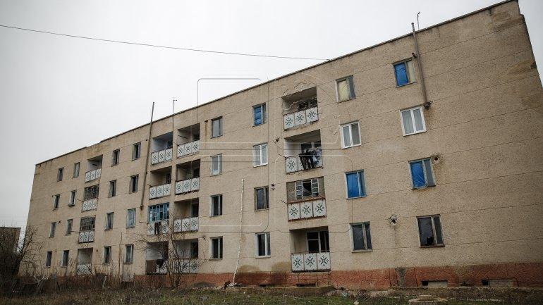 New social dwellings in western town of Leova