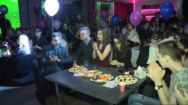 Chisinau Jews celebrated Purim