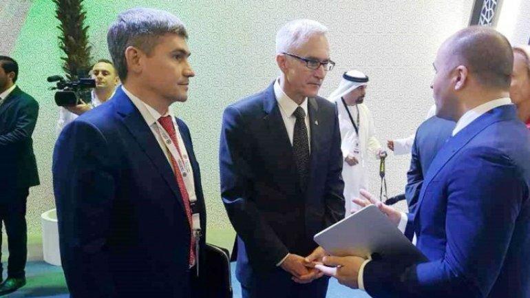 Minister of Internal Affairs Alexandru Jizdan attends INTERPOL reunion in Abu Dhabi