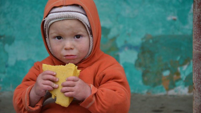 Over 1,400 Moldovan children suffer of malnutrition