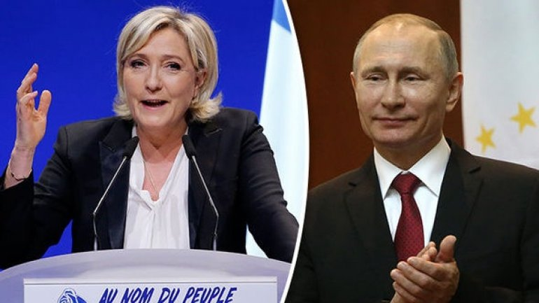French presidential hopeful Le Pen meets Russian president Putin
