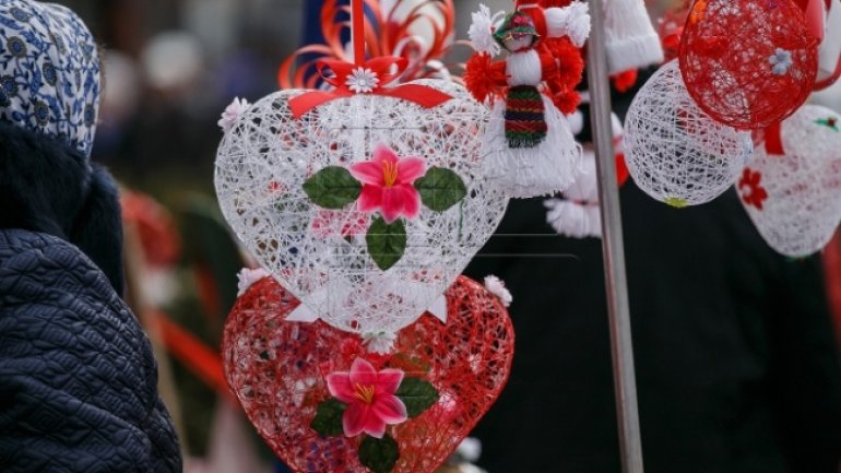 Festival Martisor welcomes spring in Chisinau. Spectators remained enthusiastic and nostalgic