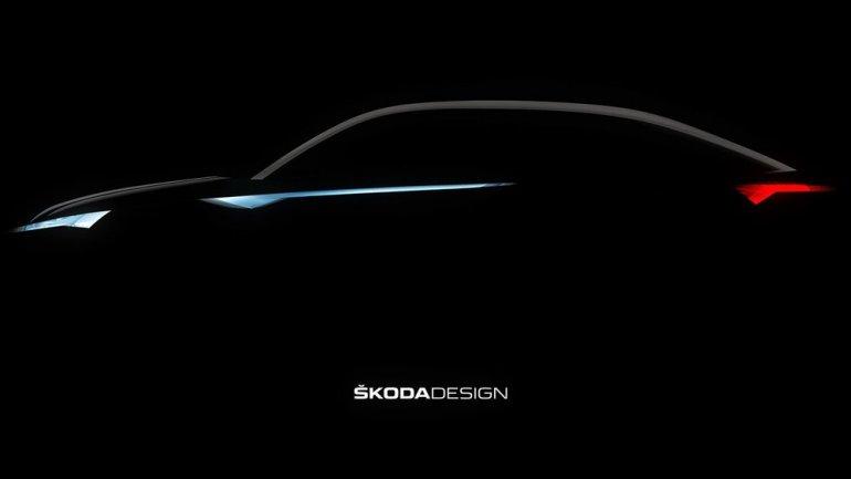 Vision E crossover concept by Skoda