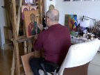Moldovan iconographer, Iurie Lungu: The energy of the icon comes from souls that worship it