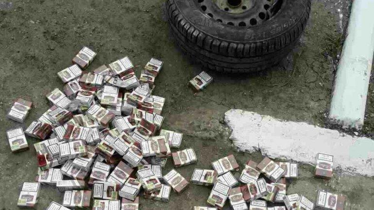 Border Police STOPS attempt of cigarette smuggling