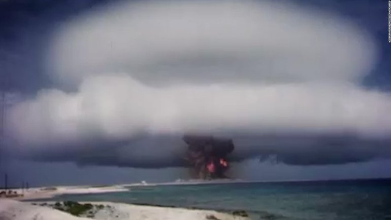 Archive footage of secret US nuclear test MADE PUBLIC (VIDEO)
